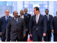 Suriye cumhurbaşkanı Esad, Sudan Cumhurbaşkanı Ömer el-Beşir ile görüştü