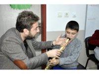 Özel öğrencilere neyli terapi