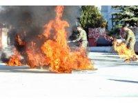 Ankara İtfaiyesinden yangın eğitimi