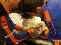 Parmağa sıkışan yüzüğü AFAD ekibi çıkardı