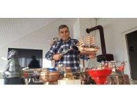 55 yaşındaki Ramazan Güneşdoğdu'un çakmak koleksiyonu görenleri şaşırtıyor