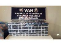 Van'da 20 bin 780 paket kaçak sigara ele geçirildi