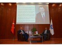 Topçuoğlu, üniversite öğrencilerine tecrübelerini anlattı