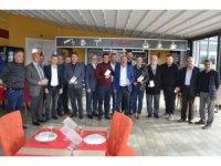 MHP Milas İlçe Başkanlığı'ndan geçmiş dönem başkanlarına plaket