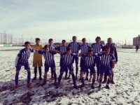 Kars'ta Liselerarası Futbol Turnuvasında şampiyon Alparslan Anadolu Lisesi