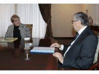 KKTC Cumhurbaşkanı Akıncı-Lute görüşmesi tamamlandı