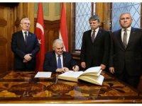 TBMM Başkanı Macaristan Meclisinde