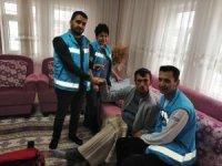 Elbistan'da 956 hasta evde sağlık hizmetinden yararlandı