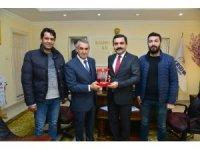 Kırgarat-C'den Belediye Başkanı Bahçeci'ye ziyaret