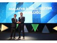 Malatya Milli Eğitim Müdürlüğü'ne 'Kristal Baret Ödülü'