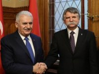 """TBMM Başkanı Yıldırım: """"Macaristan'ın hassasiyeti bizim hassasiyetimiz"""""""