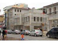 Akşehir'de Dudu Kadın Çarşısı inşaatı sürüyor