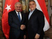 TBMM Başkanı  Yıldırım, Macaristan Başbakanı Orban ile görüştü