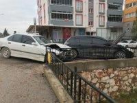 Bilecik'te trafik kazası;1 yaralı