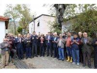 Yeşilköy'de cami temeli atıldı