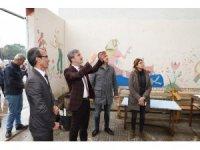 Başkan Şirin'den Atatürk İlkokulu'na destek