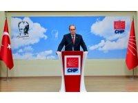 """CHP Sözcüsü: """" 'Şu anda bazı hatalar görüyorum' gibi sözlerin CHP'nin seçime girerken yürüttüğü sürece yararlı olduğunu düşünmüyorum"""""""
