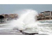 Ege Denizi'nin kuzeyinde kuvvetli fırtına bekleniyor