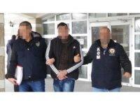 Uşak'ta firari uyuşturucu tüccarı yakalandı