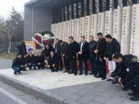 Türk Metal Sendikası Şehit Komandolar Durağını ziyaret etti