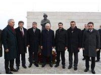 TBMM Başkanı Yıldırım, Macaristan'da Gül Baba Türbesi'ni ziyaret etti