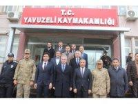 Gaziantep Valisi Davut Gül, Yavuzeli ilçesini ziyaret etti