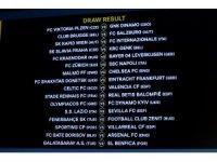 Fenerbahçe ve Galatasaray'ın Avrupa Ligi'ndeki rakipleri belli oldu