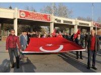 Kayseri'de Bombalı Saldırıda Şehit Olan 15 Asker, Erciyes Üniversitesi Tarafından Anıldı