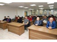 Başkan Şirin başarılı voleybolcuları tebrik etti