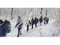 Dağcılardan Kocadağ'da kış eğitimi