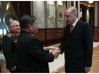 Cumhurbaşkanı Erdoğan, Malezya Savunma Bakanını kabul etti