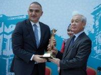 Kastamonu, Türk Dünyası Kültür Başkentliği unvanını Kırgızistan'a devretti