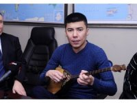 Kazakistan Elsana Ruhaniyet Vakfı'ndan İHA'ya ziyaret