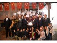 Balıkesir  Pullusu kursunu bitiren kadınlara sertifikaları verildi