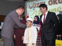 Ağrı'da Kur'an-ı Kerim'i yüzünden güzel okuma yarışmaları