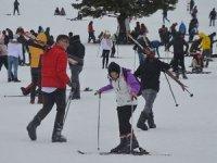 Kayak merkezlerine büyük ilgi