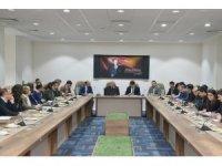 """Uşak Üniversitesi'nde """"Güdümlü Proje Arama"""" toplantısı"""
