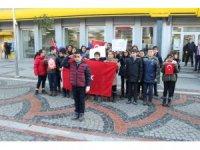 Minik kalplerden sınırdaki Mehmetçiğe yeni yıl mektubu