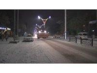Erzincan Belediyesi'ne karla mücadelede tam not