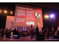 Erzincan Binali Yıldırım Üniversitesi'nde yeni yıl konseri düzenlendi