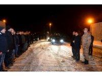 Vali Arslantaş, yılbaşına görev başındaki polis ve jandarma ekipleri ile girdi
