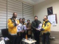 Sağlık-Sen Şırnak Şubesi yöneticilerinden 112 istasyonları ve komuta merkezine ziyaret