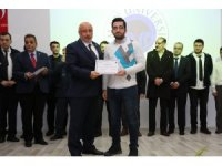 Batman Üniversitesinde sertifika töreni