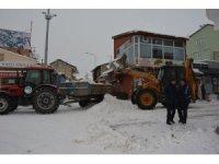 Tercan Belediyesi'nde kar çalışması