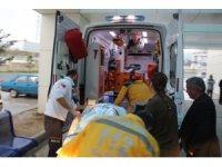 Burdur'da mermer fabrikasında soba patladı: 6 yaralı