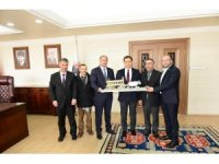 Vural'dan Vali Mustafa Masatlı'ya hayırlı olsun ziyareti
