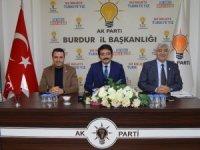 Burdur'da AK Parti'den Seçim İstişare Toplantısı