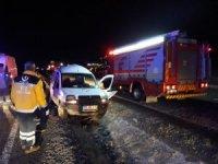 Askere gidecek genç kazada hayatını kaybetti