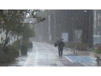 Marmaris'te rüzgarın hızı 85 kilometreye ulaştı