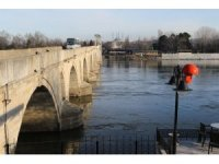 Meriç ve Tunca Nehirlerinde artış var, taşkın riski yok